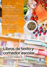 SOLICITUD LIBROS DE TEXTO Y COMEDOR CURSO 2021 - 2022